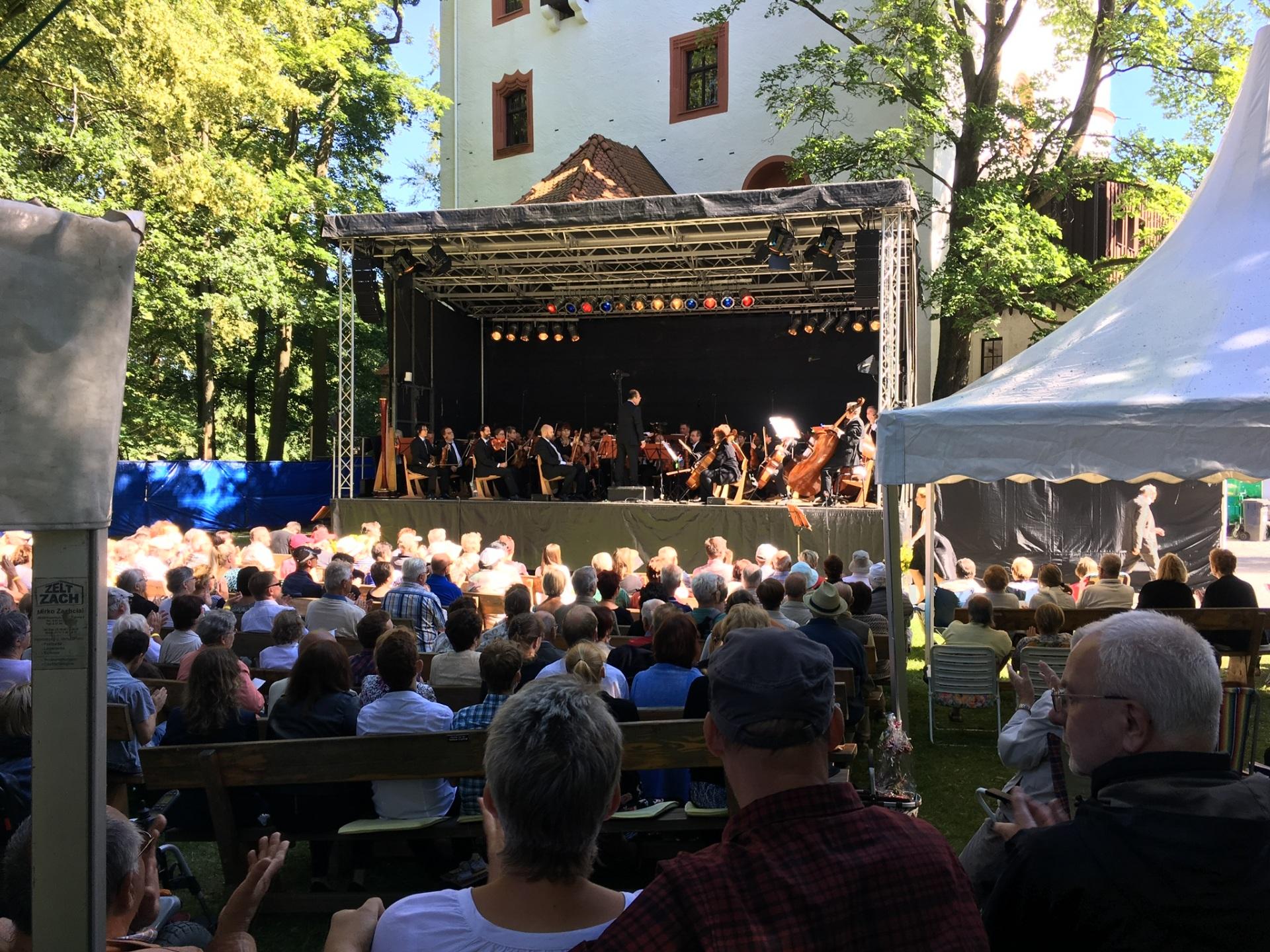 Festival im Schlosspark