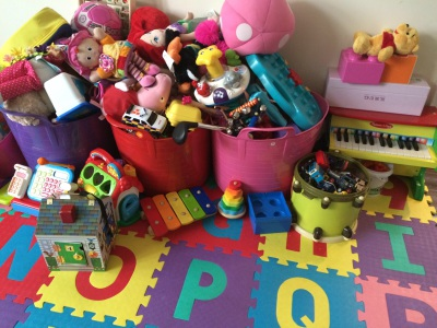 Versitile Toy Storage: Looks great in playroom