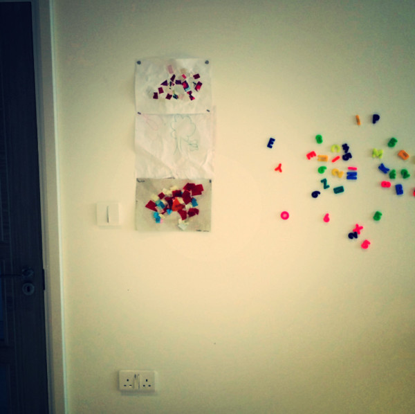 Magnetic Walls for Nursery or Playroom