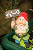 Gnome at Bumble Cottage