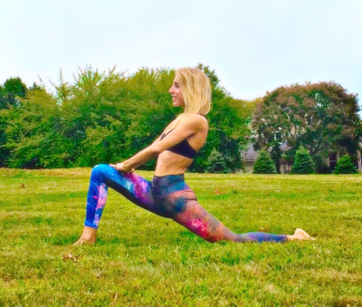 Low Lunge Yoga Motion Melissa