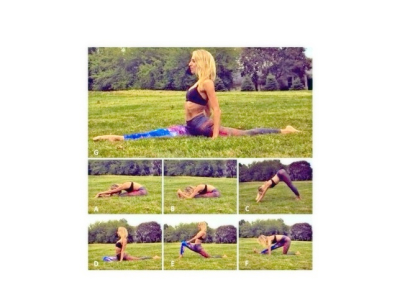 Motion to Splits Challenge Stretches