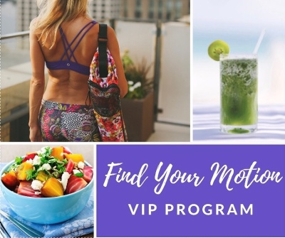 Find Your Motion VIP Program fitness nutrition plan 4 weeks wellness coaching