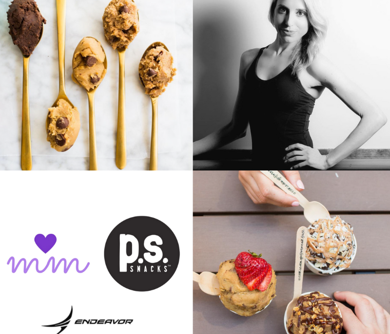 vegan cookie dough sundae bar pssnacks barre pop up rittenhouse square philadelphia endeavor