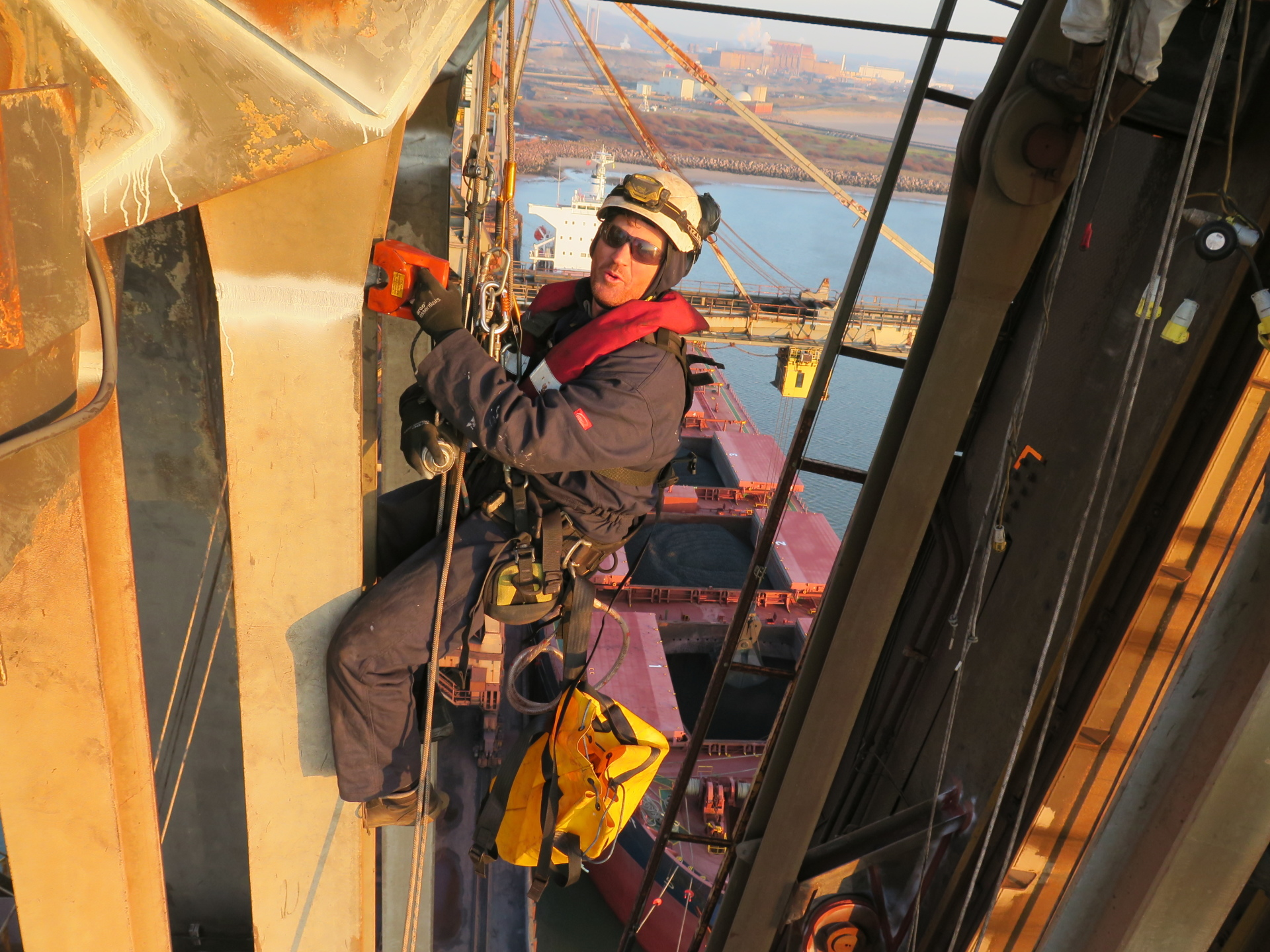 <Aspect3Sixty Magnetic Particle Weld Inspection Rope Access>