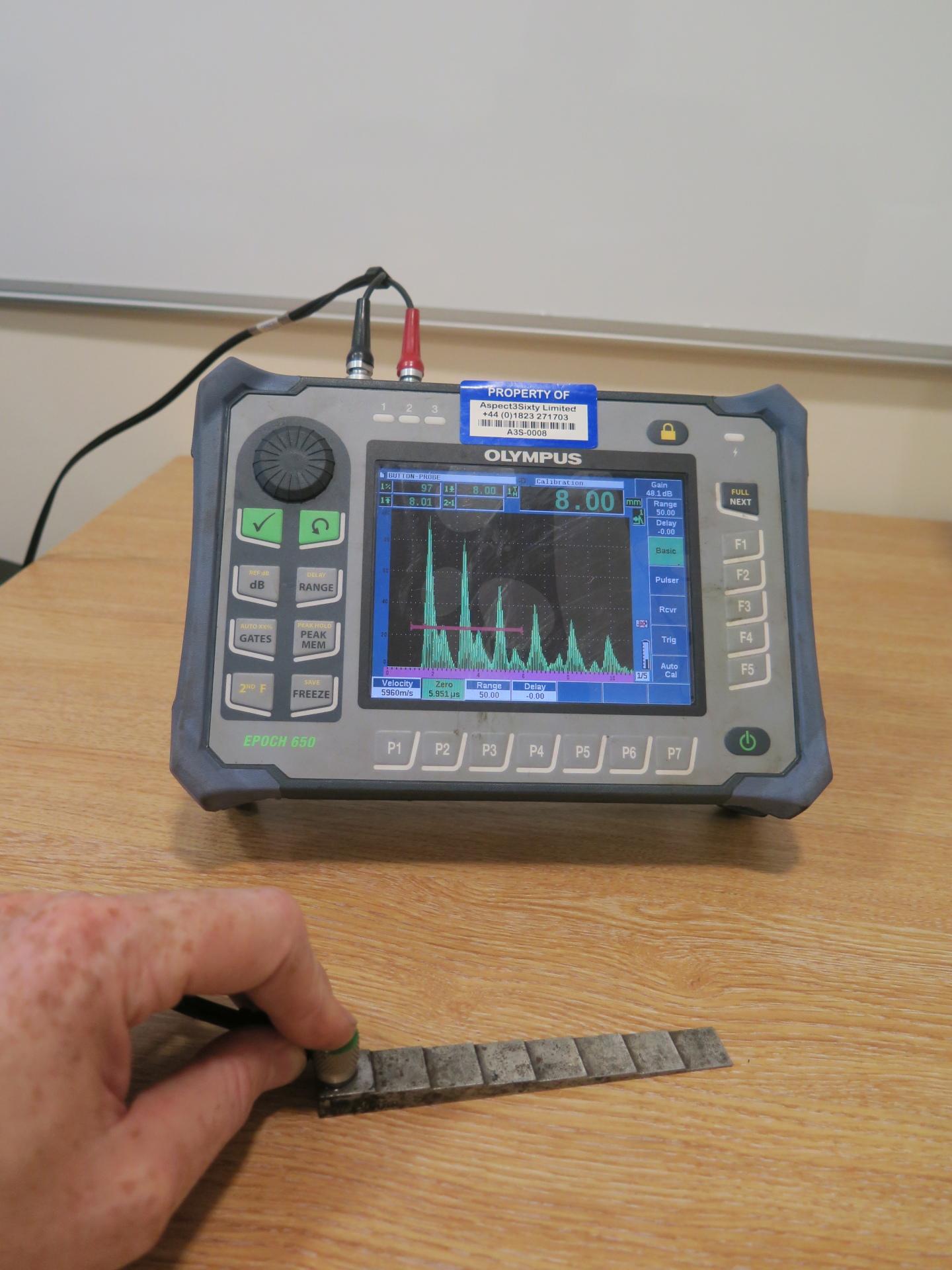 <Aspect3Sixty Epoch 650 Ultrasonic Flaw Detection Non Destructive Testing NDT>
