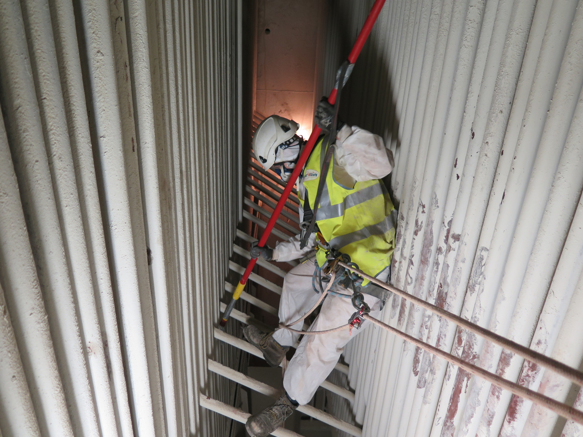 <Aspect3Sixty Confined Space Rope Access Clinker Removal>