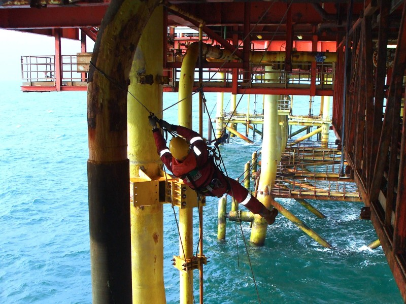 <Offshore, Rope Access, Aspect3Sixty, NDT Inspection>