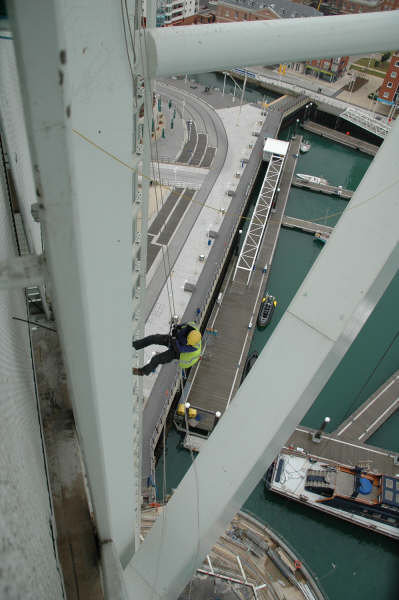 <Industrial Rope Access Aspect3Sixty Spinnaker Tower>