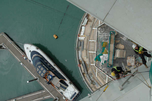 <Aspect3Sixty Spinnaker Tower Industrial Rope Access Building Inspection and Anchor Installation>