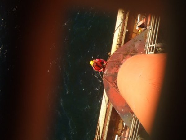 <Offshore Rope Access Structural Inspection>