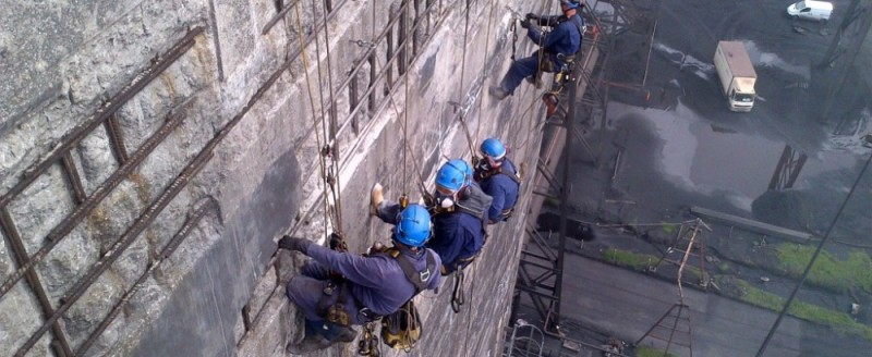 Aspect3Sixty Industrial Rope Access Concrete Repairs>