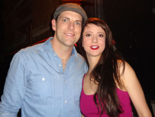 Chris Mann and Katie Travis Photo Credit: Audrey Liebross
