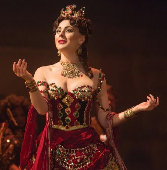 Carlotta Giudicelli (Jacquelynne Fontaine) Photo Credit: Matthew Murphy