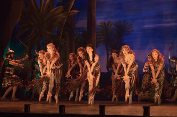 The Ballet Chorus, in Hannibal Photo Credit: Matthew Murphy