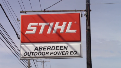 Aberdeen Outdoor Power Stihl Sign
