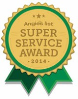 AOPR earns Angies list 2014 super service award