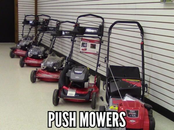 Snapper push mowers