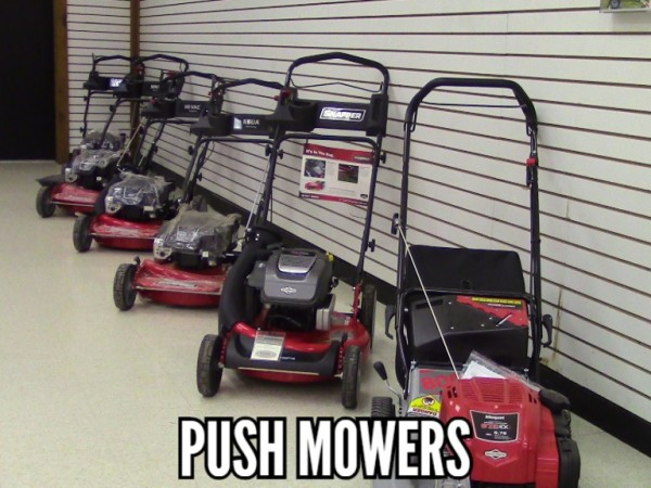 Snapper push mowers