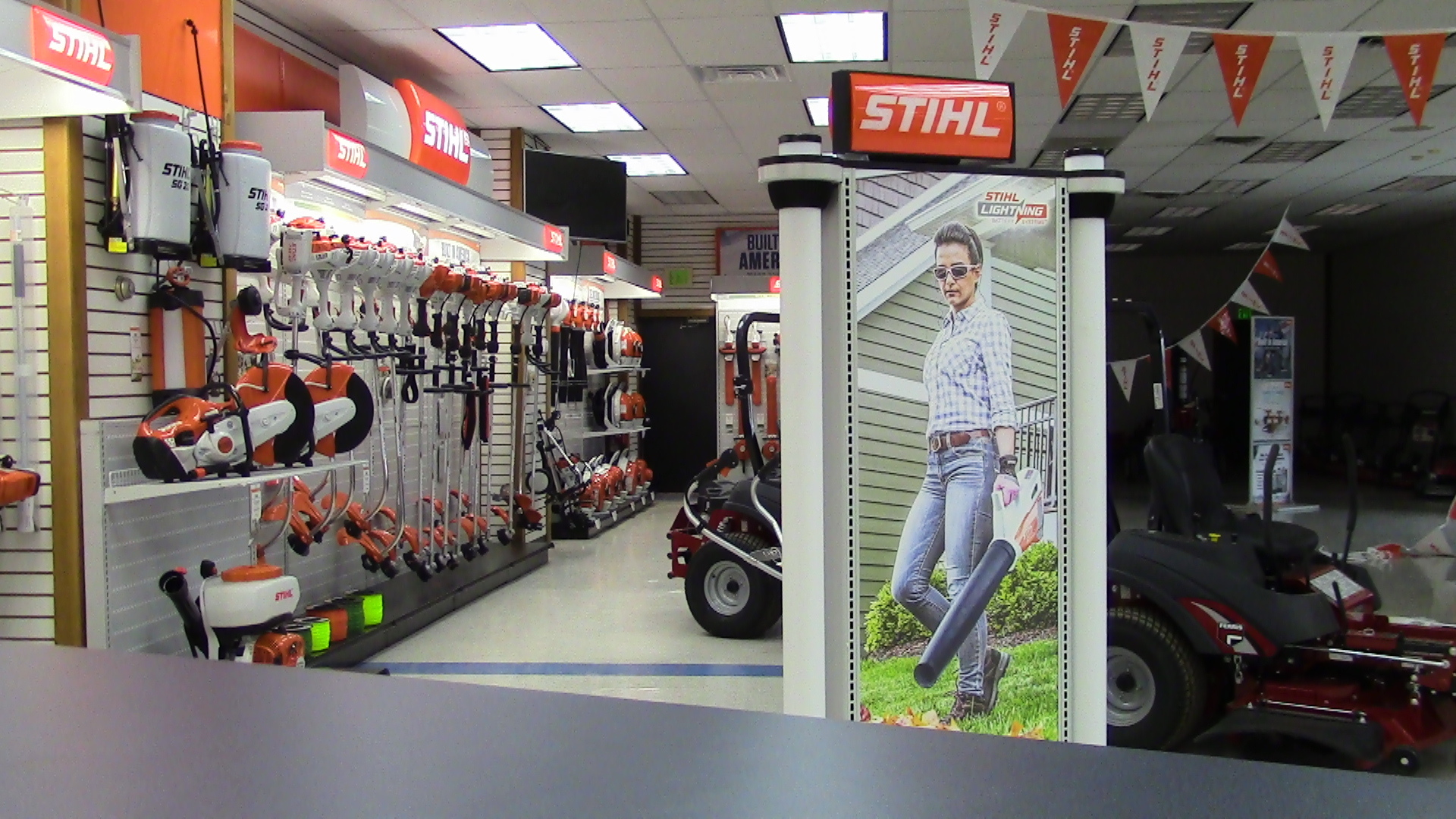 Stihl handheld equipment