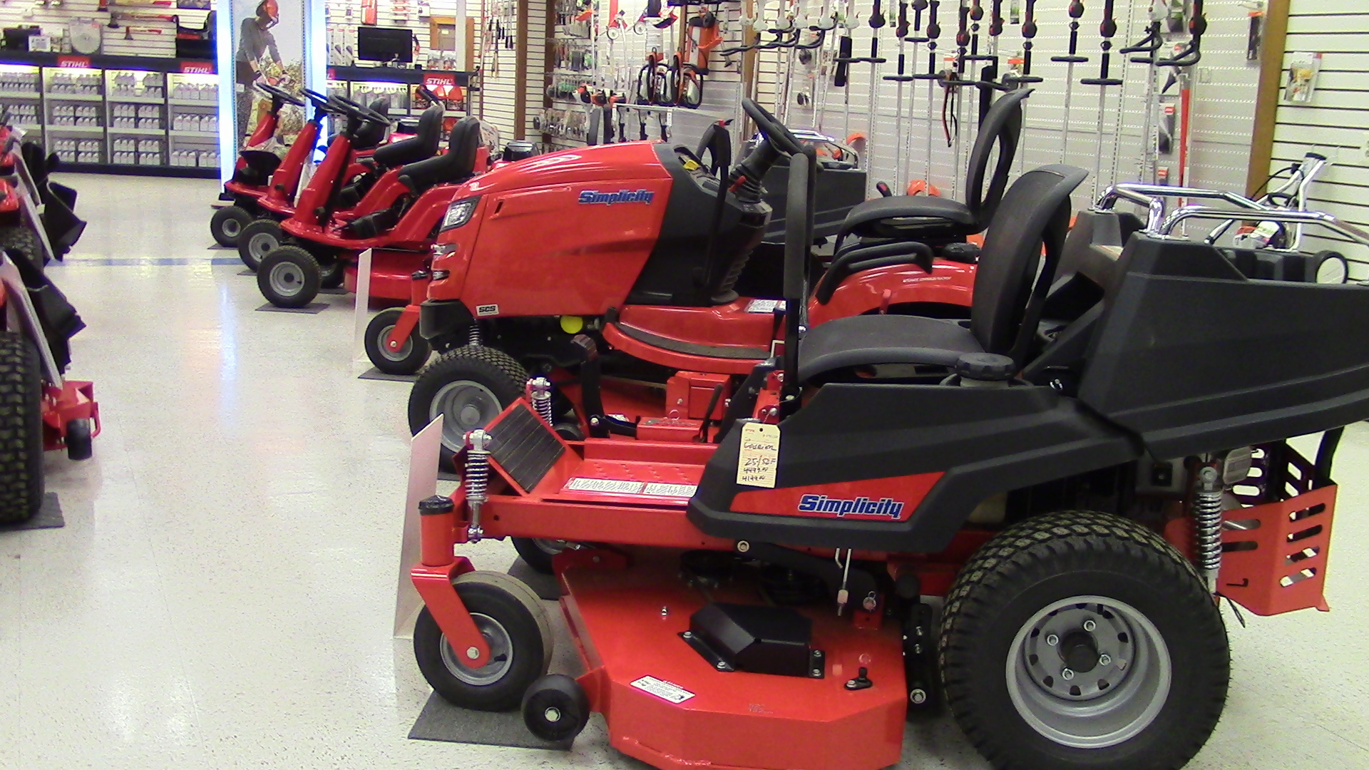 Snapper and Simplicity Mowers