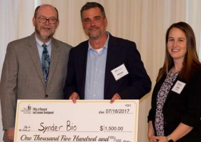 SynderBio wins pitch competition