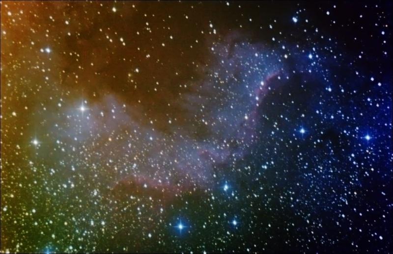 Región del Muro del Cisne en la Nebulosa Norteamérica (NGC 7000)