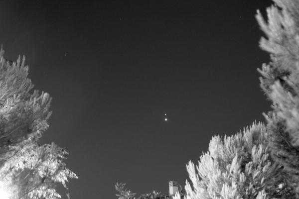 Conjunción de Júpiter con Venus 2015