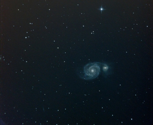 Galaxia Remolino M51
