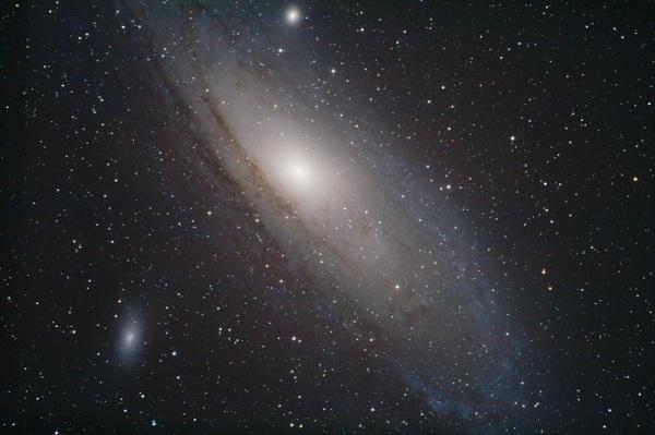 Galaxia de Andrómeda fotografiada con SW150/750