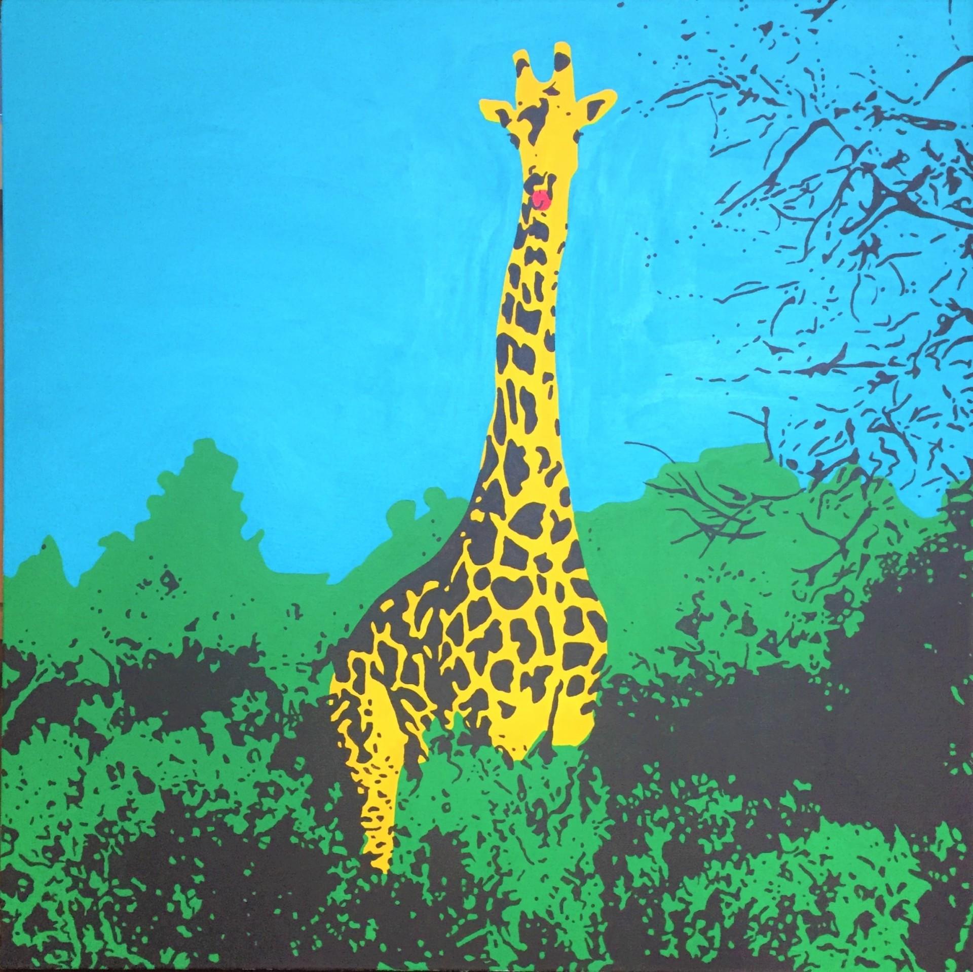 Giraffe Talking To You