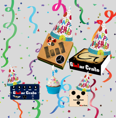 Guitar Crate turns one!