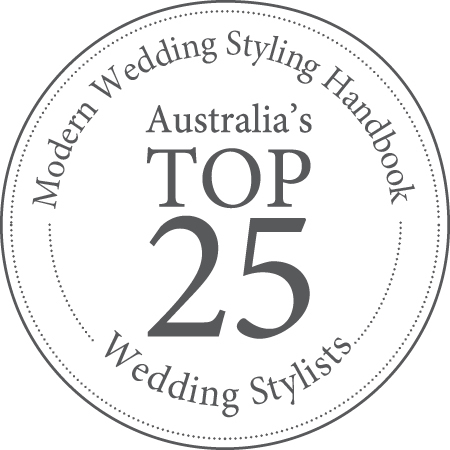 Margaret River Wedding Stylist in top 25 best stylists in Australia