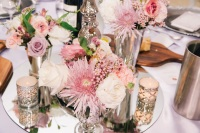 wedding candle holders and vases