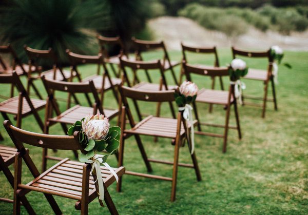 wedding ceremony chairs and furniture