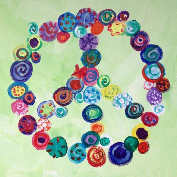 Peace Sign, circles