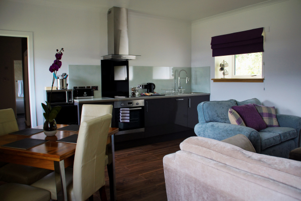 Serviced apartment, Huntly, Aberdeenshire, Scotland