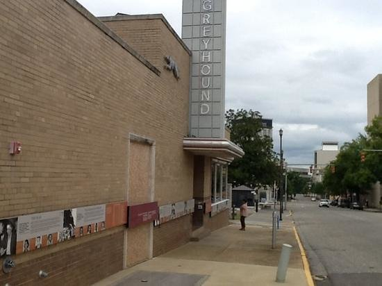 Montgomery Greyhound Bus Station