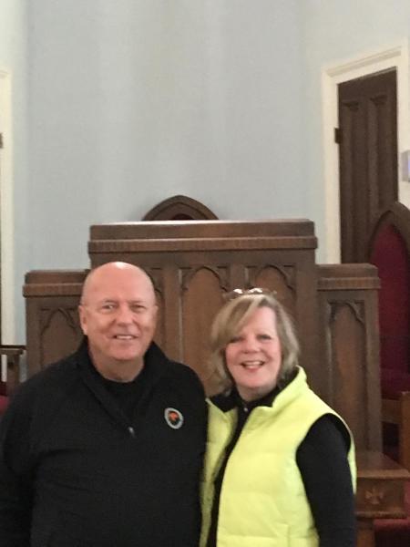 Guest Mr. and Mrs. Schaffner from Charleston, S. Carolina