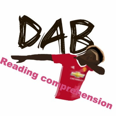 Let's dab and read!