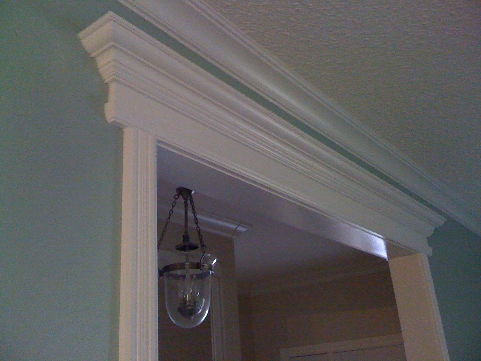 Crown molding mantel