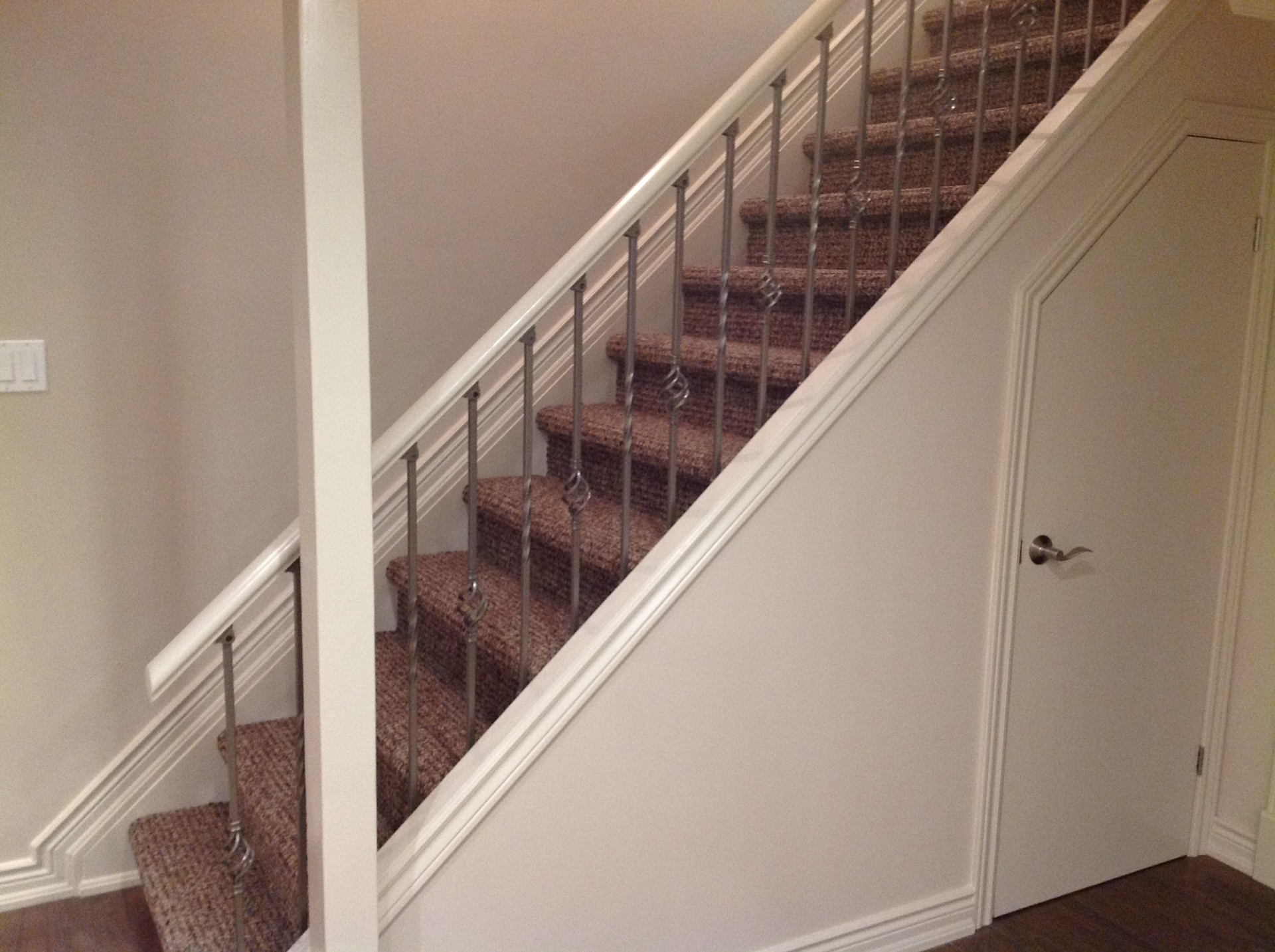 Basement Stair Case