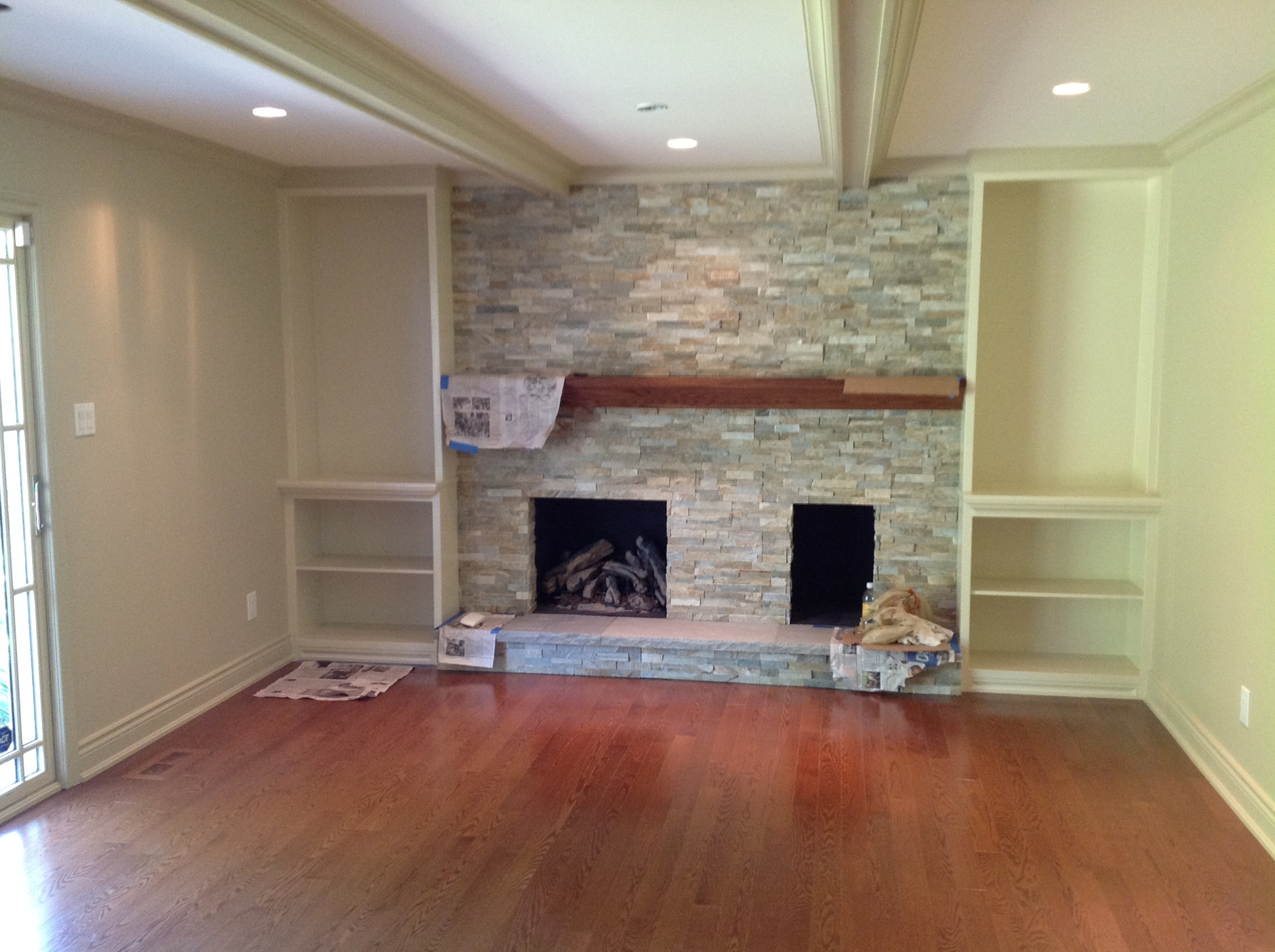 Fireplace in Natural stone