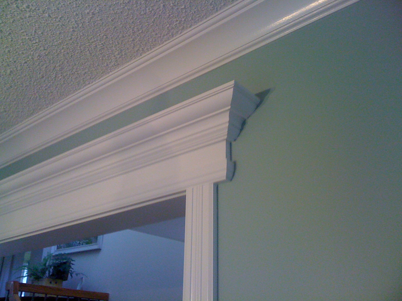 Custom Crown Molding Mantel