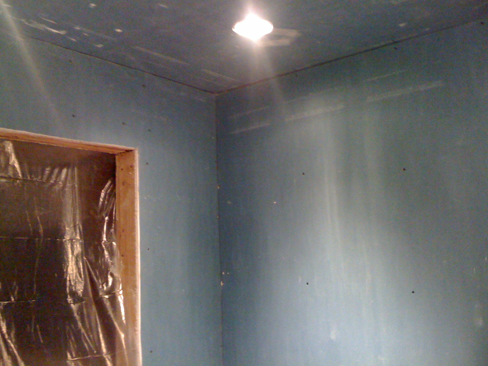 Water resistant drywall