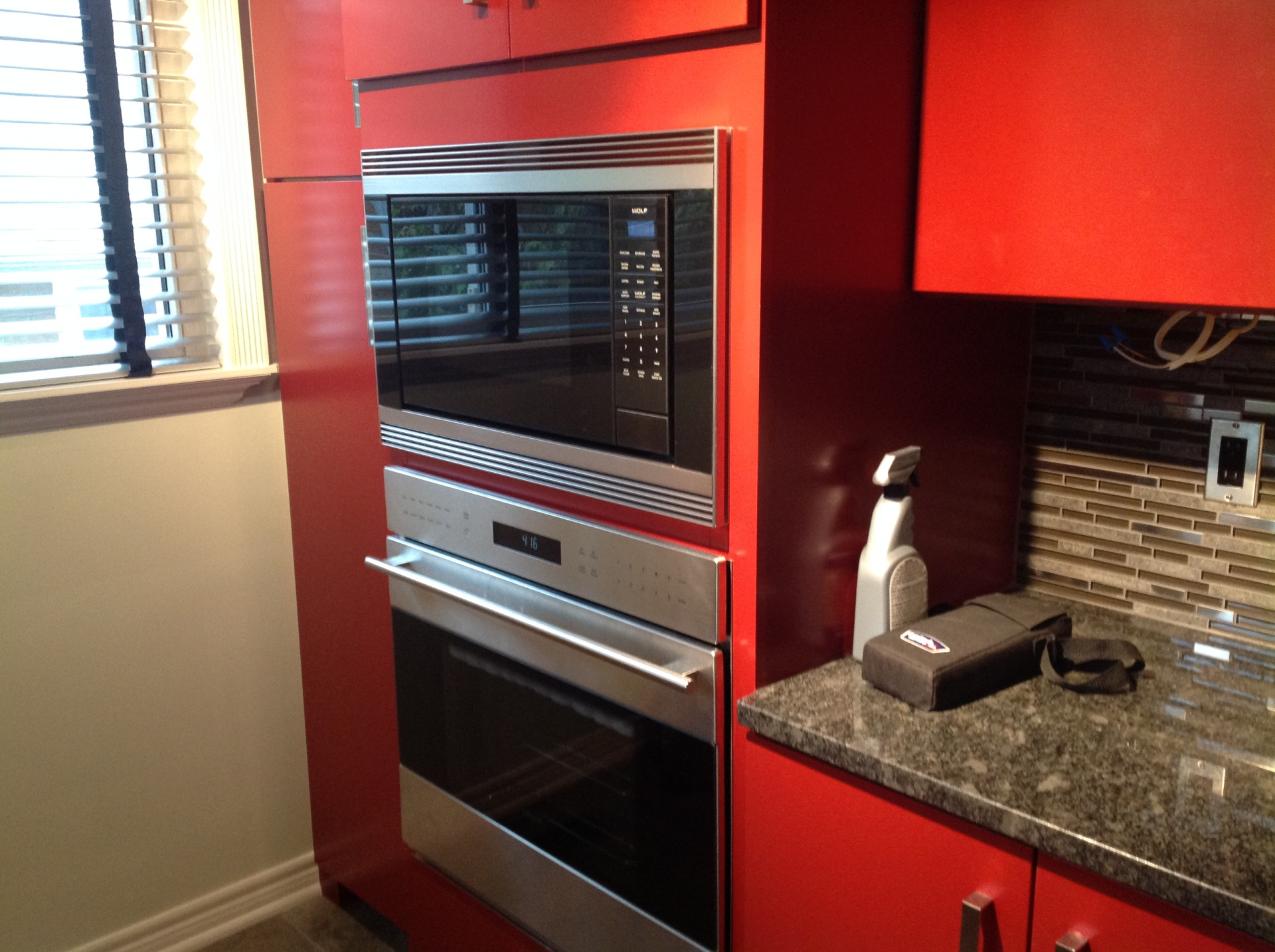 Kitchen Appliances inset in cabinetry
