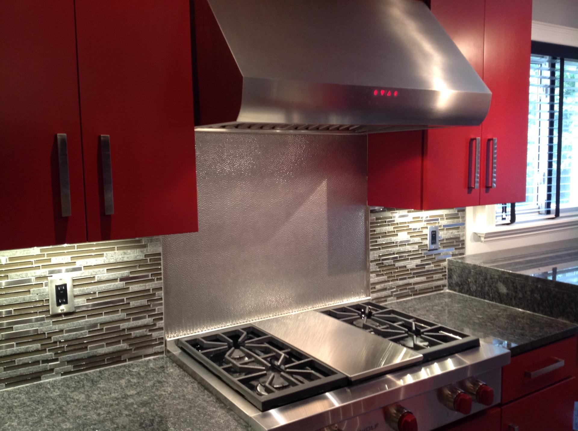 Kitchen Granite Counter top Red