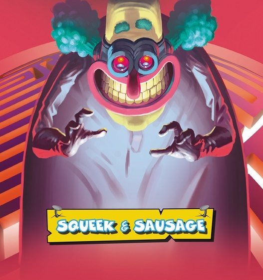 Calvin's Corner - Unlock! Squeek and Sausage