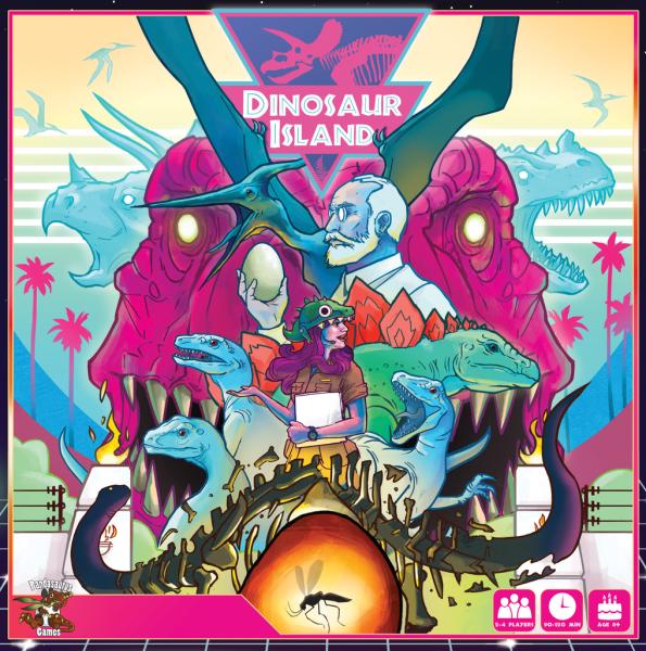 Calvin's Corner - Dinosaur Island