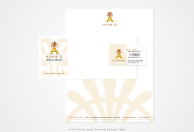 Adante Senior Living: Stationery Design Package